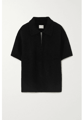 LOULOU STUDIO - Rusinga Ribbed Cashmere Sweater - Black