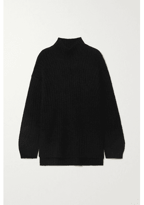 By Malene Birger - Cyrhila Oversized Ribbed-knit Sweater - Black
