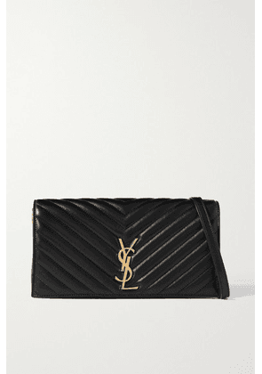 SAINT LAURENT - Kate 99 Quilted Leather Shoulder Bag - Black