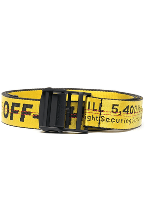 Off-White Classic Industrial belt - Yellow