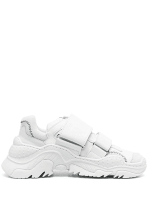 Nº21 Billy touch-strap sneakers - White
