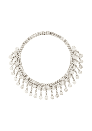 Dannijo Pyxis embellished necklace - Silver