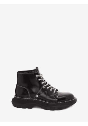 ALEXANDER MCQUEEN Tread Lace Up Boot - Item 595469WHQSG1090