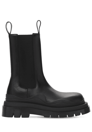 Bv Tire Leather Chelsea Boots