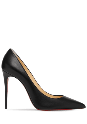 100mm Kate Leather Pumps