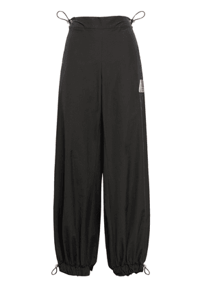 Elon Cotton Blend Wide Leg Pants