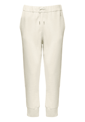 Plus Embroidered Cotton Sweatpants