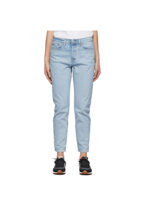 Levis Blue Wedgie Icon Jeans