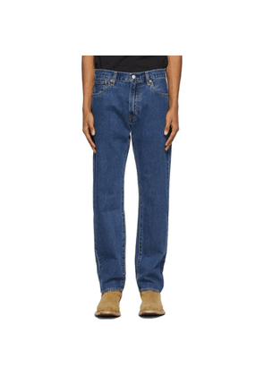 Levis Navy 551 Z Authentic Straight Jeans