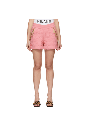 Moschino Pink Smiley© Edition Charm Shorts