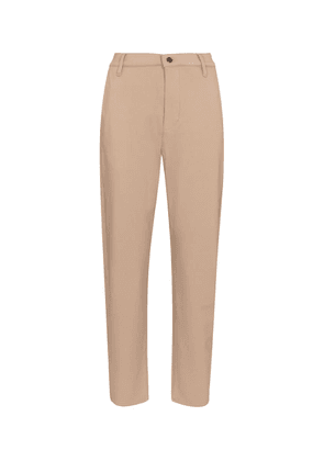 Stretch cotton-blend twill chinos