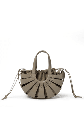 The Shell Small leather tote