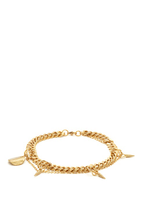 Orit Elhanati - Wilma Gold-plated Charm Anklet - Womens - Gold