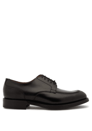 Cheaney - Chiswick Leather Derby Shoes - Mens - Black