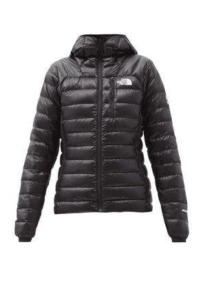 The North Face - Summit Quilted Down Hooded Jacket - Womens - Black