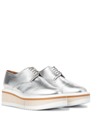 Brook leather platform Derby shoes