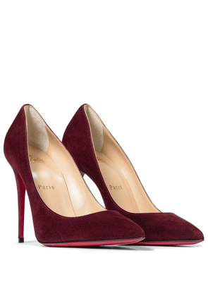 Kate 100 suede pumps