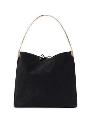 Suzanne Medium suede tote