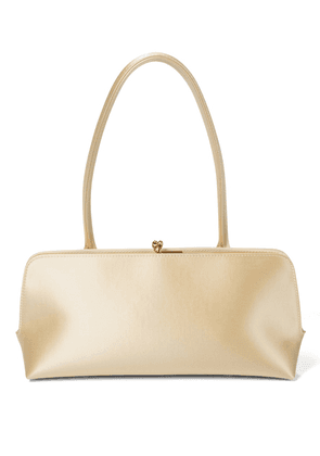 Small satin shoulder bag