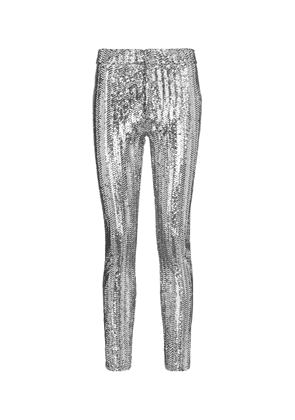 Todiz sequined high-rise skinny pants