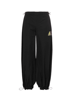 Elon drawstring canvas sweatpants