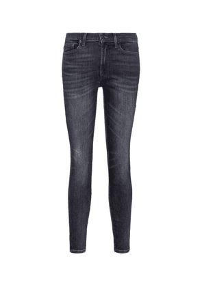 Slim Illusion high-rise cropped skinny jeans