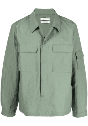 A Kind of Guise Clyde press-stud shirt jacket - Green