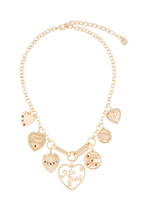 Dannijo Louise heart charm necklace - Gold