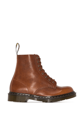 Dr. Martens 1460 Pascal leather ankle boots - Brown