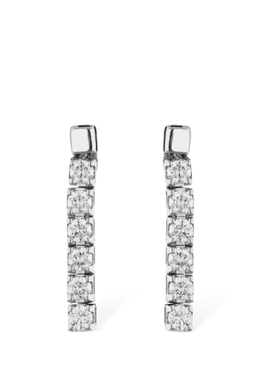18kt Gold & Diamond Drop Earrings