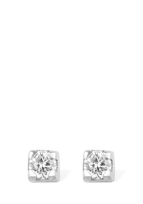 18kt Gold & Diamond Stud Earrings
