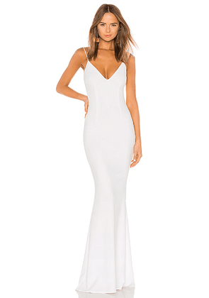 Katie May Bambi Gown in White. Size 10, 2, 8.