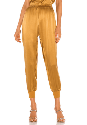 CAMI NYC X REVOLVE The Sadie Pant in Brown. Size L.