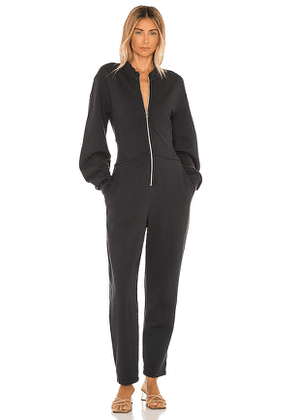 A.L.C. Evelyn Jumpsuit in Charcoal. Size S.