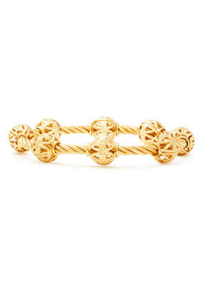 Dolce & Gabbana Gold-tone Bangle Woman Gold Size --