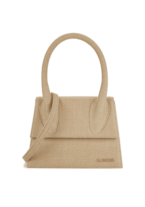 Jacquemus Le Grand Chiquito Canvas Top Handle Bag