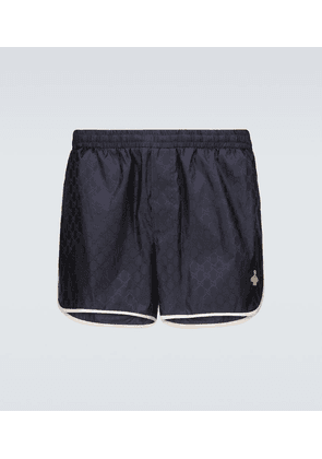 GG nylon swim shorts