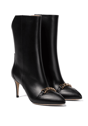 Sylvie leather ankle boots