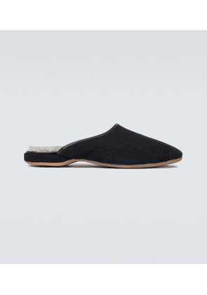 Douglas suede slippers