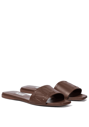 Musa leather slides