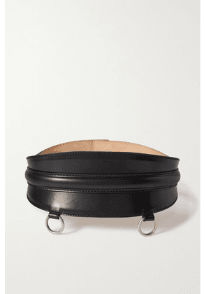 Alexander McQueen - Leather Waist Belt - Black