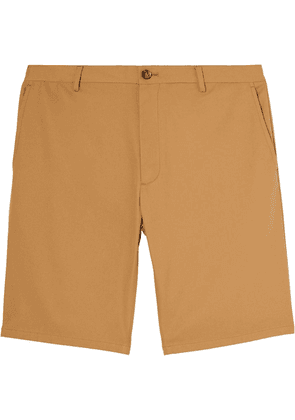 Burberry logo-patch chino shorts - Brown