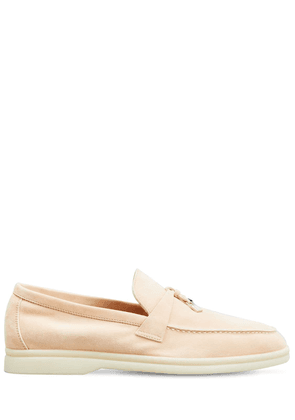 10mm Summer Charms Walk Suede Loafers
