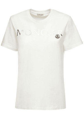 Logo Printed Cotton Jersey T-shirt
