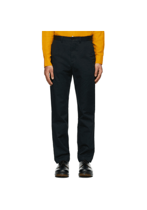 Wood Wood Black Light Twill Marcus Trousers