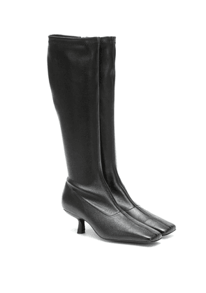 Rosalia leather knee-high boots