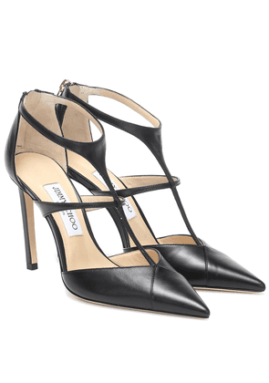 Saoni 100 leather pumps