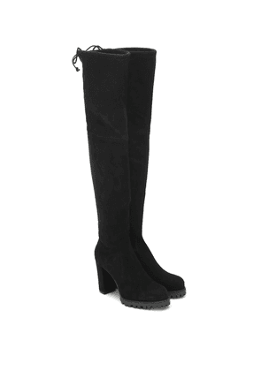 Zoella 95 suede over-the-knee boots