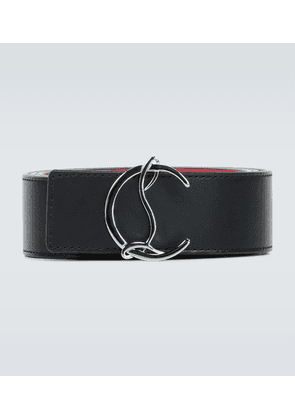 CL Logo reversible leather belt