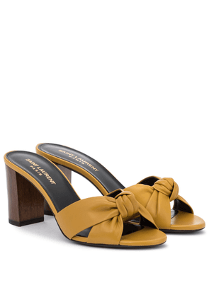 Bianca 75 leather sandals